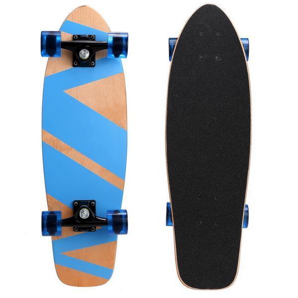 27inch Wooden Cruiser Style Skateboard Deck Skate Board 1