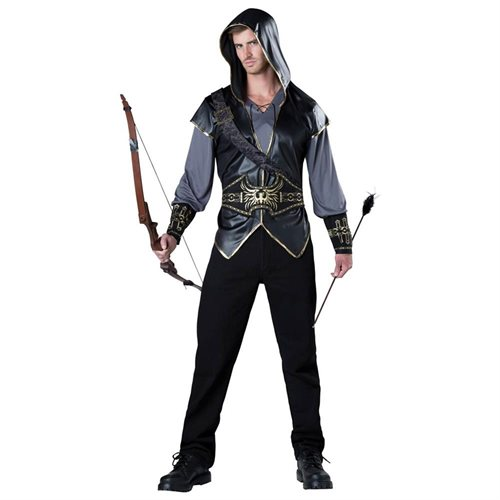Adult Hooded Huntsman Costume - Medieval and Renaissance Costumes 0