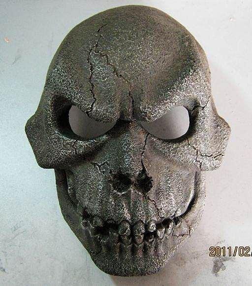 =優 =(( 珍藏版)刺陵主題面具 樹脂工藝品 刀郎面具頭盔 骷髏面具