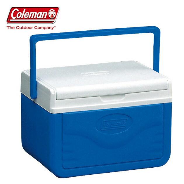 【Coleman 美國】Take冰箱 冰桶 保鮮桶 保冰箱-藍色/CM-01355M000
