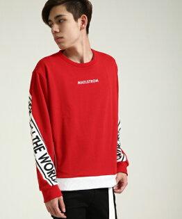 長袖運動衫RED
