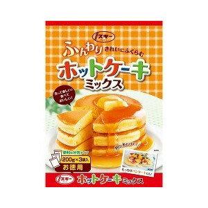 【奧本製粉】德用鬆餅粉 家庭包 600g ふんわりホットケーキミックス 日本進口美食