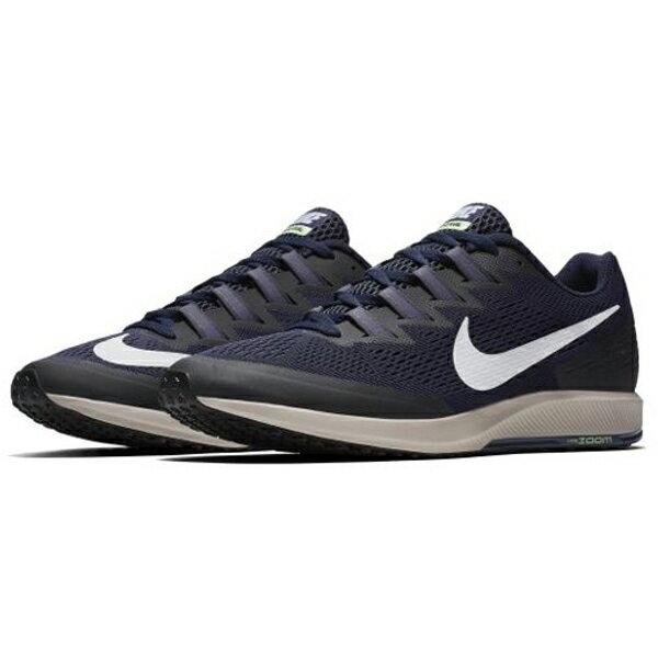 NIKEAIRZOOMSPEEDRIVAL6男鞋女鞋慢跑網布透氣氣墊深藍黑【運動世界】880553-405