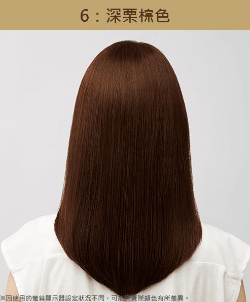 CIELO宣若 EX染髮霜【6】深栗棕色 1