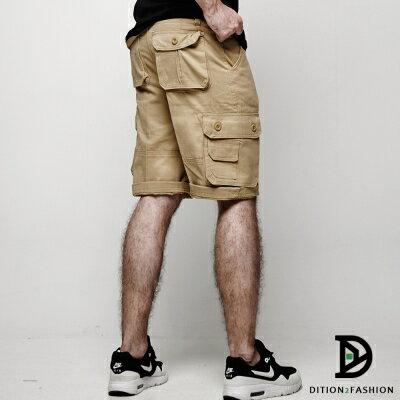 DITION 美式OUTDOOR多口袋水洗工作褲 大尺碼 機能【12 / 1-31 單筆滿1000結帳輸入序號 XmasGift-100 再折↘100】 1
