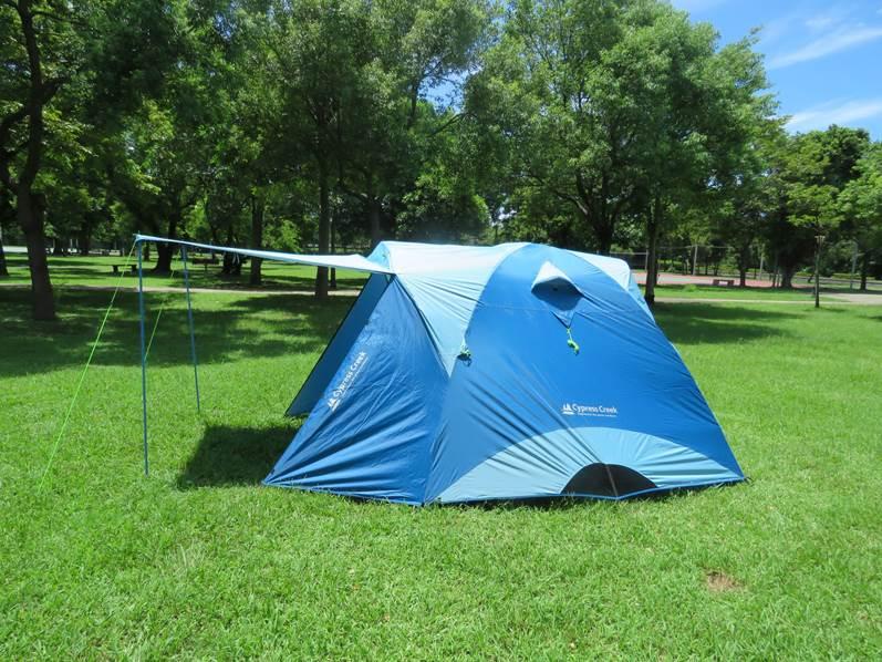 【野道家】賽普勒斯馬卡龍家庭帳系列CC-T270F(藍色) 最新款帳篷270*270