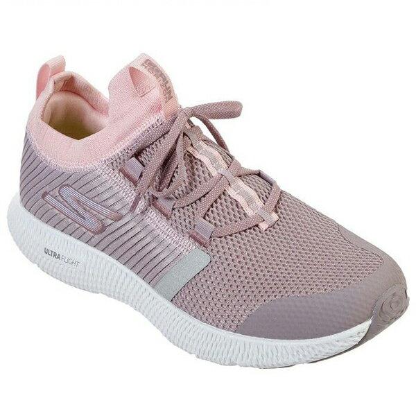 SKECHERS【15217MVE】慢跑鞋 GO RUN ULTRA 襪套 紫粉色 網布 女款