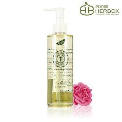 《Herbox 荷柏園》阿拉伯薔薇潔顏油 250ml (卸妝油 瞬間乳化好沖洗 不含礦物油)