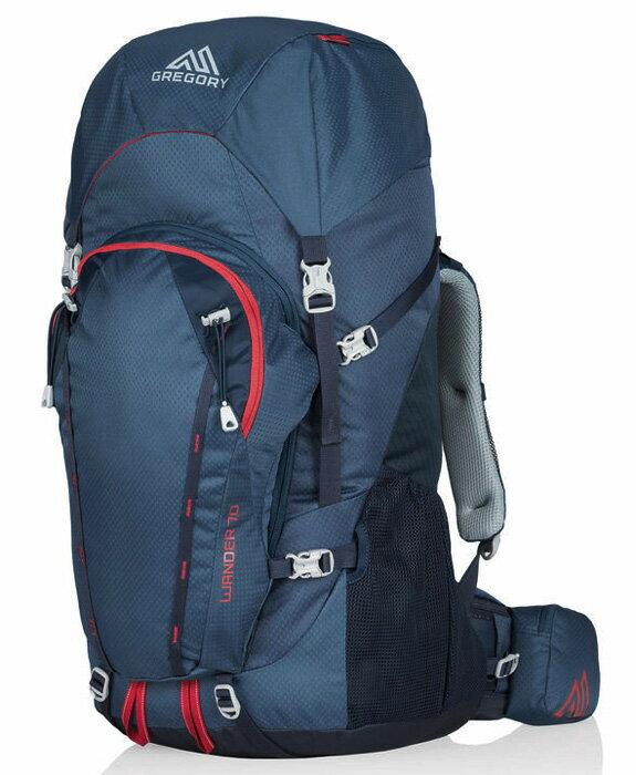 【鄉野情戶外用品店】 Gregory |美國| WANDER 70 登山背包《青少年款》/長程背包 自助旅行背包/65141 【容量70L】
