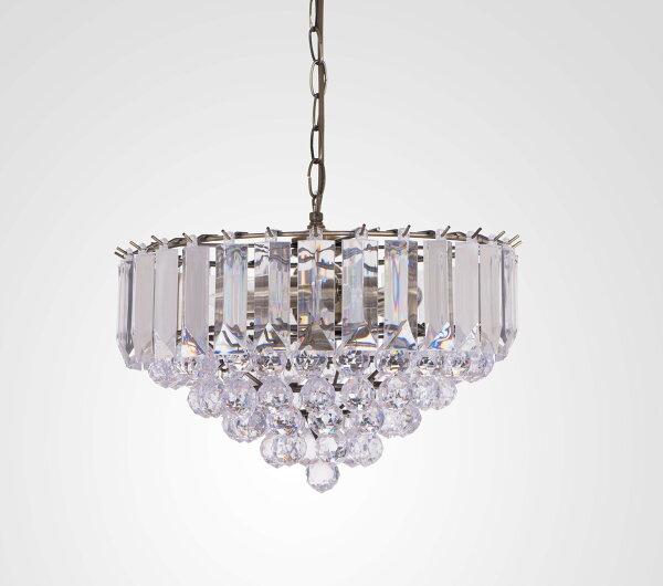 青古銅透明壓克力珠吊燈-BNL00061