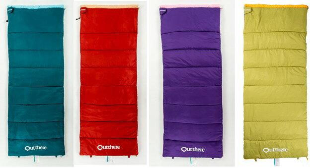 【速捷戶外】好野Outthere 好窩睡袋~雙枕頭設計、可拼接為雙人睡袋 (四色可選)