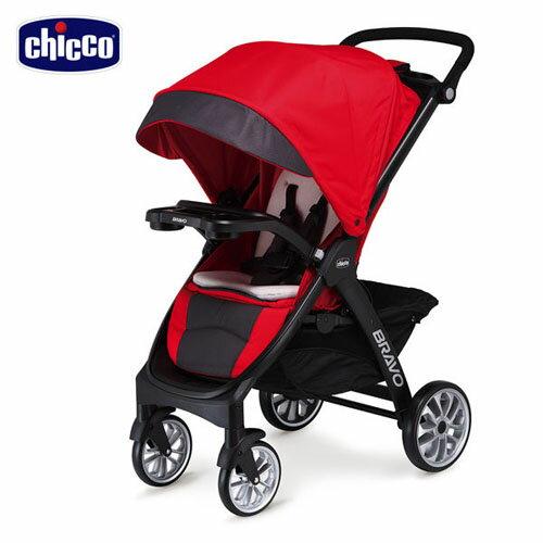 Chicco - Bravo極致完美手推車(絕美紅)買就送保溫保冷袋