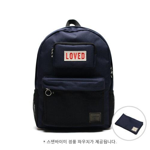 【獨家商品】韓國潮牌 STANd.BY.ME 154 網袋後背包 書包 電腦包 2