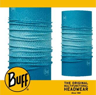 BUFF 西班牙魔術頭巾 經典系列 [綠松雪花] BF113064-789-10