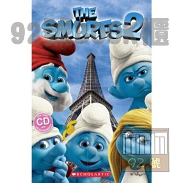 92號BOOK櫃-參考書專賣店:Smurfs2(withCD)