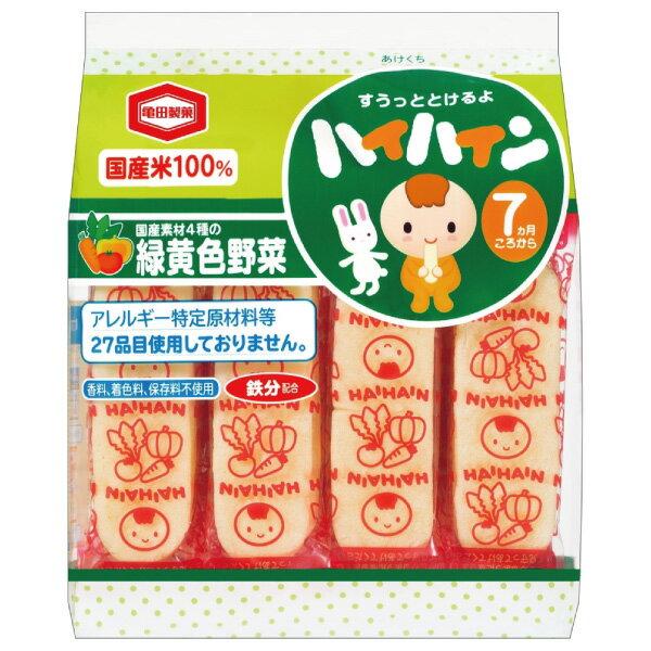 【效期18.07.01】龜田製果 嬰兒米果/米餅 蔬菜風味53g(7個月)
