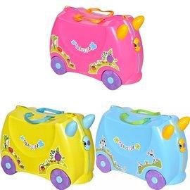 【淘氣寶寶】【CHING-CHING親親】兒童行李箱4in1 (紅色/藍色/黃色) LV-001