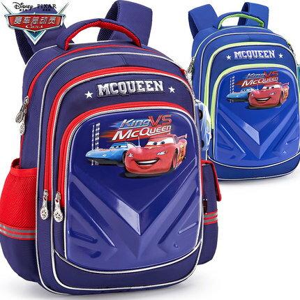 迪士尼正版帥氣汽車總動員書包小學生男童1-4年級男生背包減負雙肩包