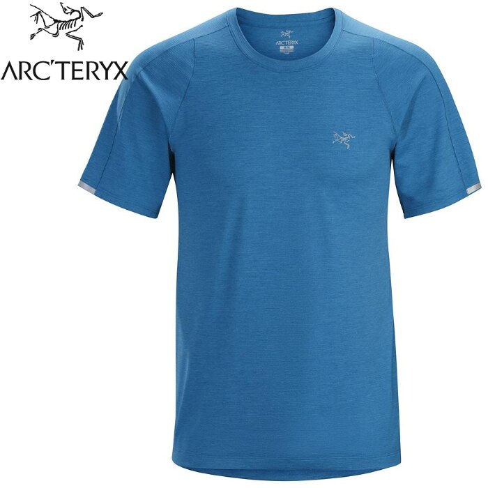 Arcteryx 始祖鳥/登山排汗衣/排汗T恤 Cormac 男款 短袖排汗衣 15518 小灣藍