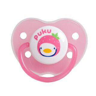 『121婦嬰用品館』PUKU 水果拇指型初生安撫奶嘴(0m+) - 粉