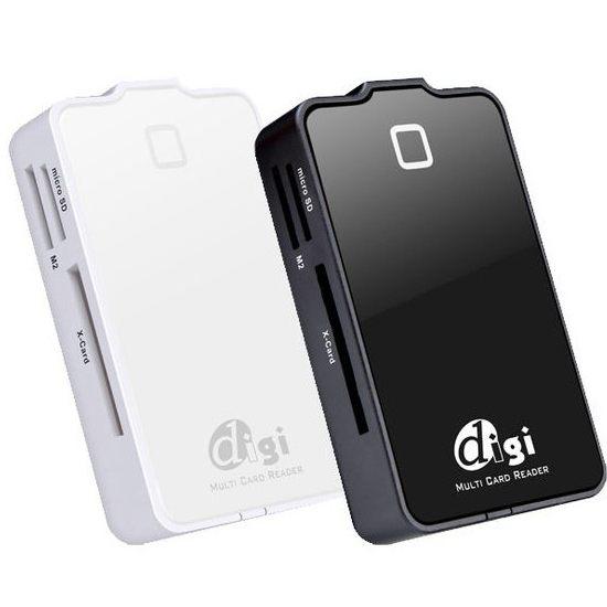 【新風尚潮流】SEVAS 炫彩魔鏡 61in1 全功能讀卡機 適用所有類型記憶卡 超高速 高容量 M460