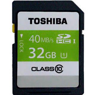 TOSHIBA 32G UHS-I SDHC CL10 R40MB 32GB(SD-K032GR7AR040A) 記憶卡 [天天3C]