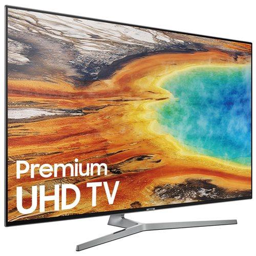 "Samsung 9000 UN55MU9000F 55"" 2160p LED-LCD TV - 16:9 - 4K UHDTV - Gray, Black - ATSC - 3840 x 2160 - DTS Premium Sound 5.1, Dolby Digital Plus - 40 W RMS - Full Array LED Backlight - Smart TV - 4 x HDMI - USB - Ethernet - Wireless LAN - DLNA Certified - P 1"