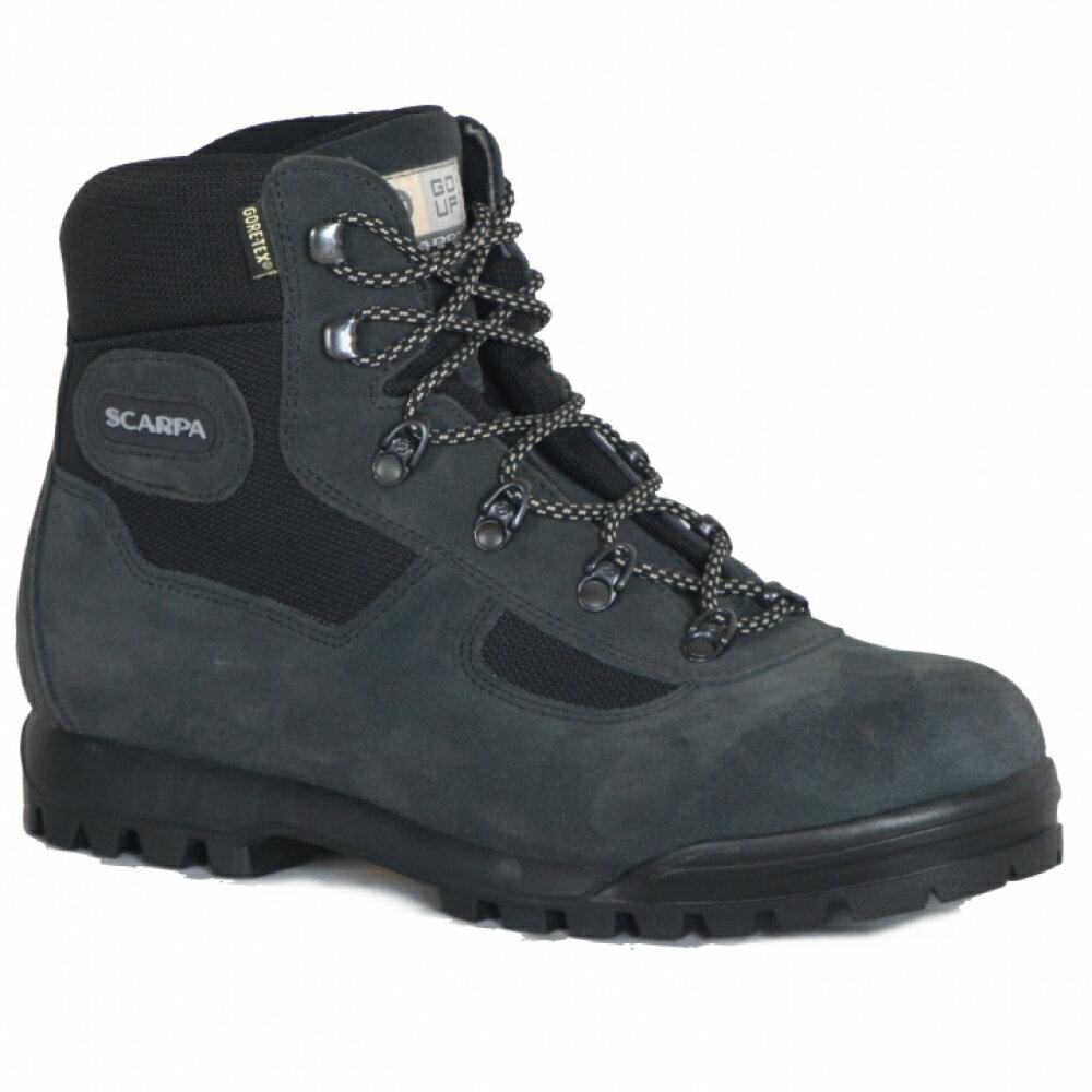 贈Smartwool襪 ├登山樂┤義大利Scarpa LITE TREK GORE-TEX 60023高筒登山鞋 灰黑 #SP60023