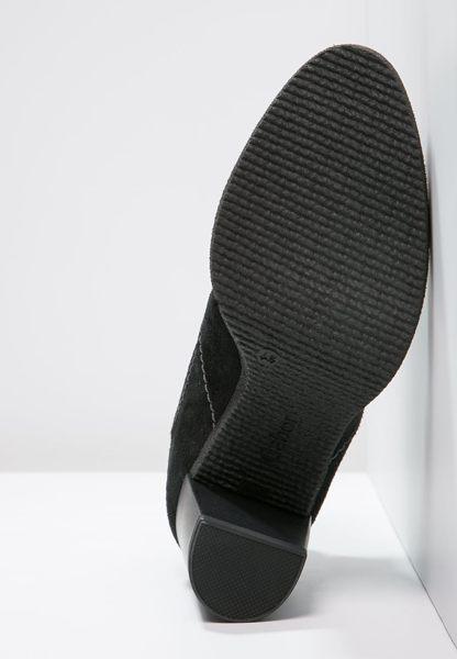 Gabor 縫紋交露踝時尚跟靴 黑 粗跟│中跟│寬楦│皮革 9