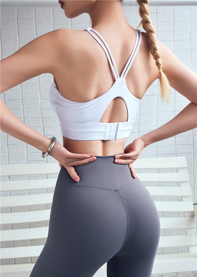 中度支撐可調節美背運動內衣 2