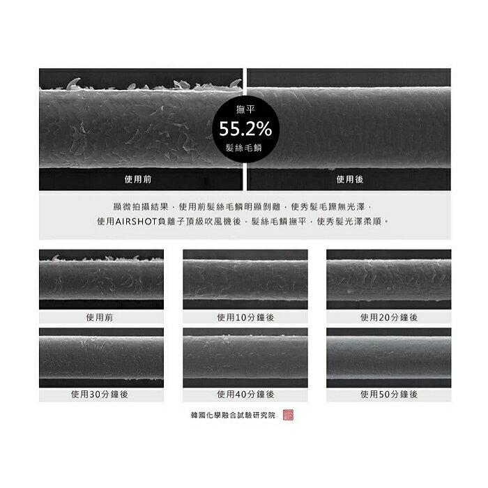韓國UNIX AirShot頂級負離子吹風機(黑色) UN-B1742TW 5