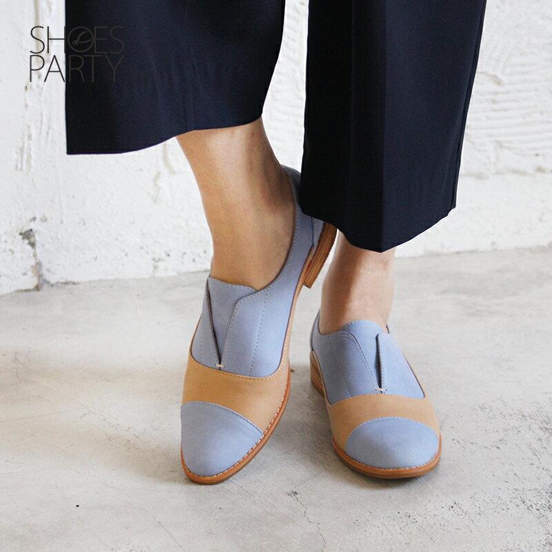 【C2-18740L】簡約真皮復古紳士鞋_Shoes Party 3