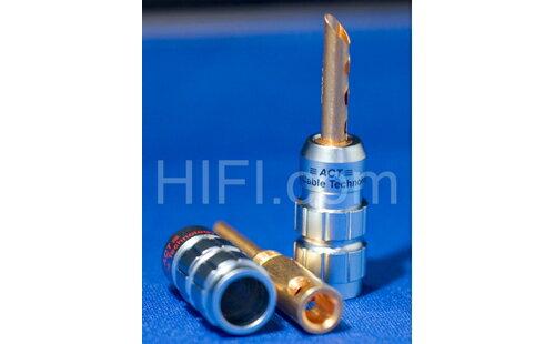 {音悅音響}ACT B-500 高純度銅香蕉插 喇叭端子 快速插拔 喇叭插 裸線可用