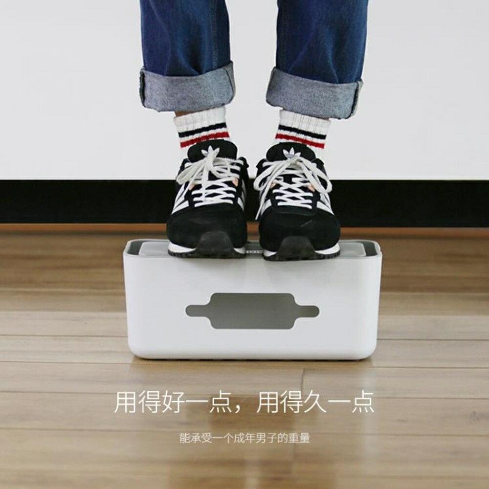 免運 ORICO 大號電源插座電線收納盒電源線排插線板整理盒集線器收納盒