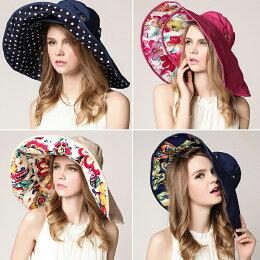 大帽沿可拆可折疊遮陽帽 防曬帽