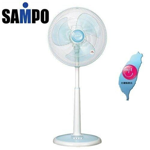 【台灣製造】SAMPO聲寶16吋桌立扇機械式SK-FR16**免運費**