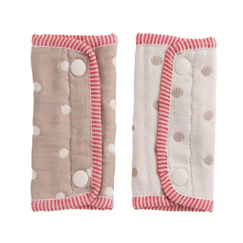 HiBOU-六重紗-背帶防污口水巾(摩卡咖)