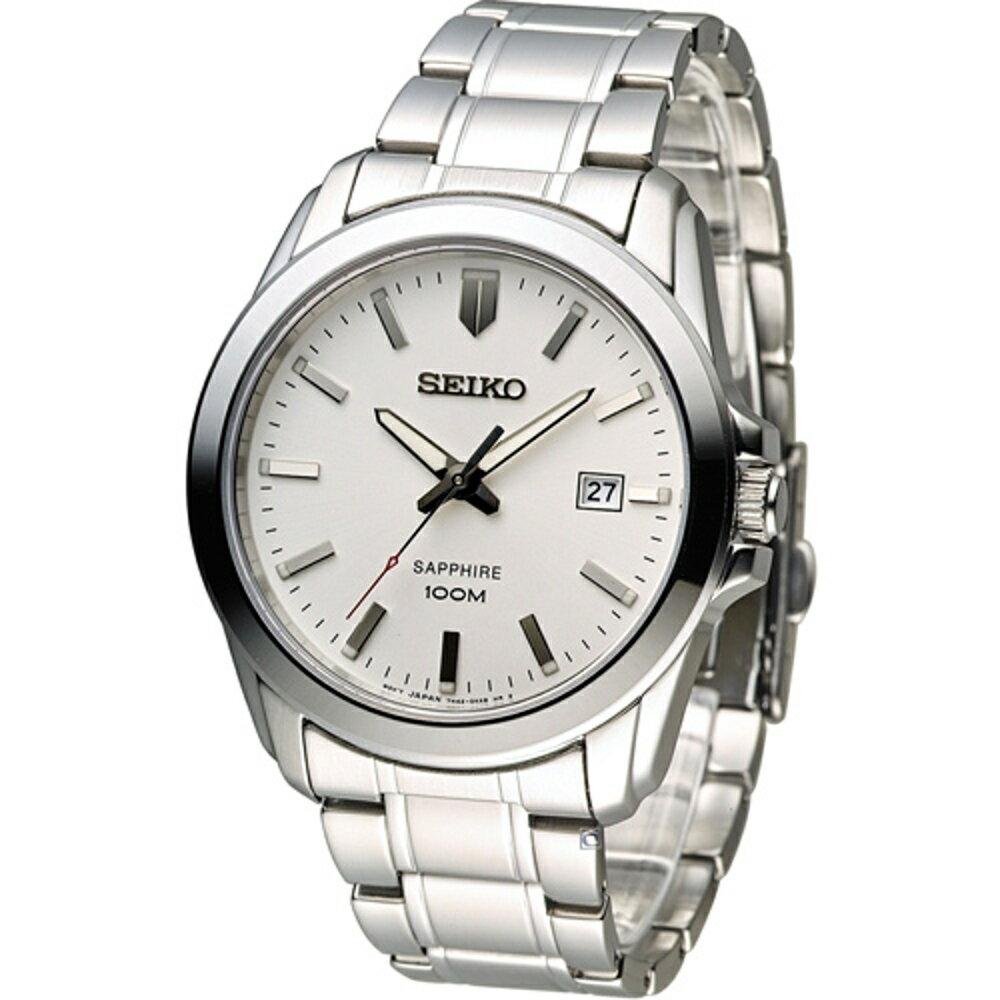 SEIKO 精工錶 紳士品味時尚錶 7N42-0GD0S SGEH45P1