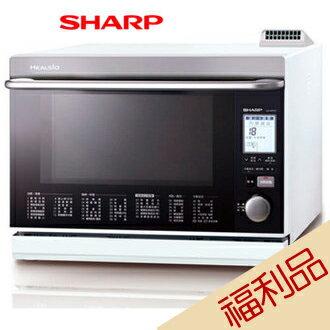 【實演機】SHARP 夏普 AX-WP5T(W) 雙噴射過熱水蒸氣水波爐 31L 日本原裝 (白) 送摩登碗組($599)