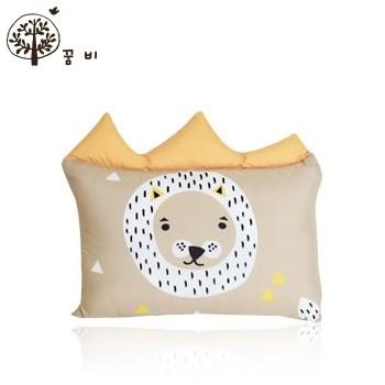 NANABABY:【韓國DreamB】透氣防蹣護頭型嬰兒枕--獅子#BP-Lion