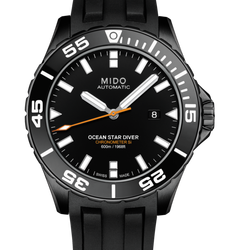 MIDO 美度 Ocean Star 600m陶瓷框 潛水機械腕錶M026.608.37.051.00-黑/43.5mm