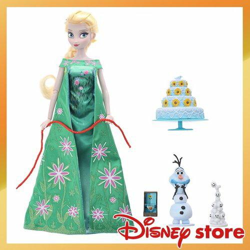 【真愛日本】16120400019專賣店公主-唱歌艾莎ELSA 迪士尼 冰雪奇緣 Frozen 公仔 芭比 洋娃娃 玩具 聖誕節 交換禮物 聖誕市集
