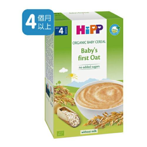 【買6送1】德國 喜寶有機 寶寶 燕麥精 HiPP Organic Baby Cereal Baby's First Oat 200g - 限時優惠好康折扣