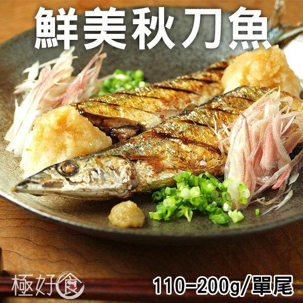 極好食?新鮮北太平洋美味秋刀魚-2尾/包