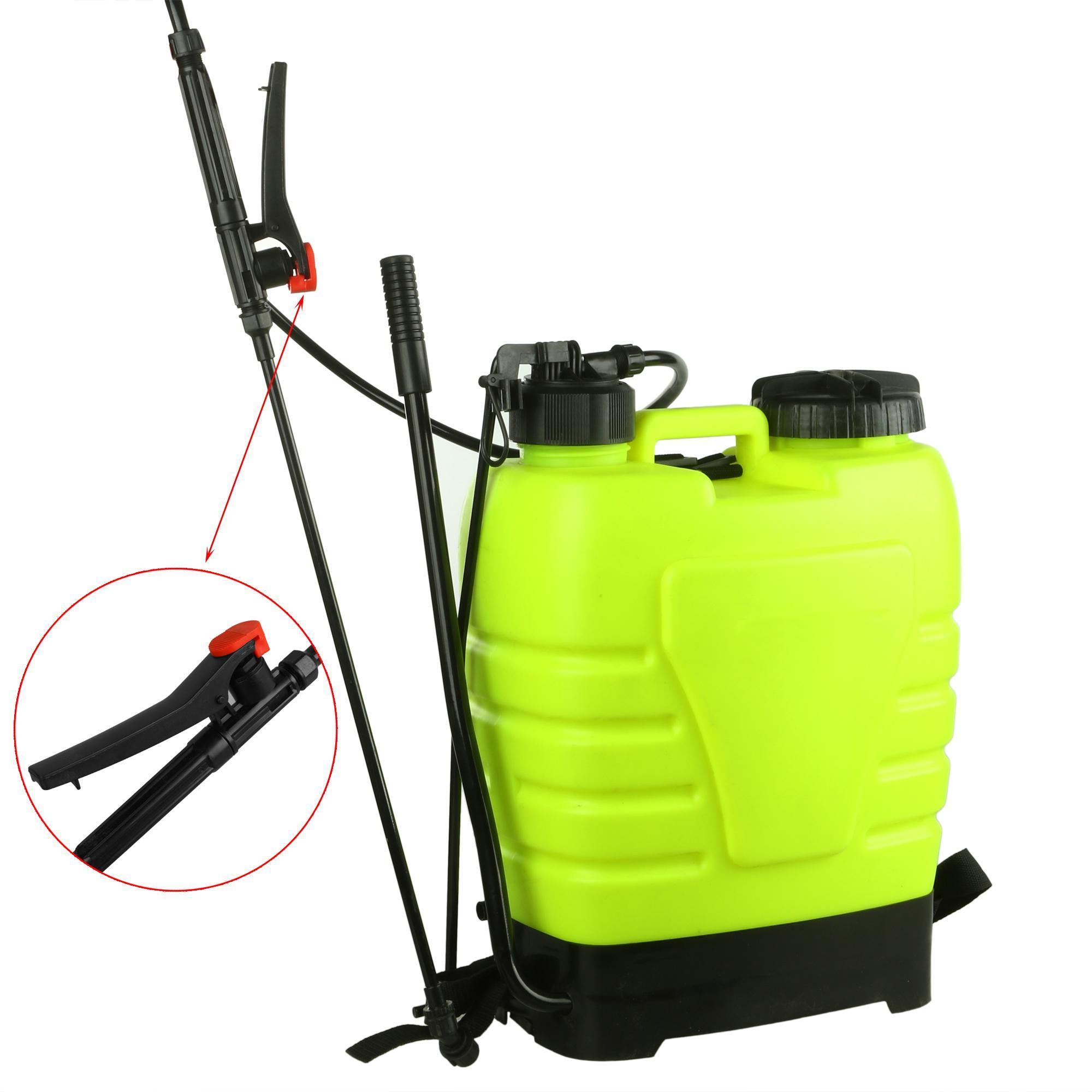 Portable Pressure Sprayer Knapsack 16L Garden Yard Weed Chemical 3