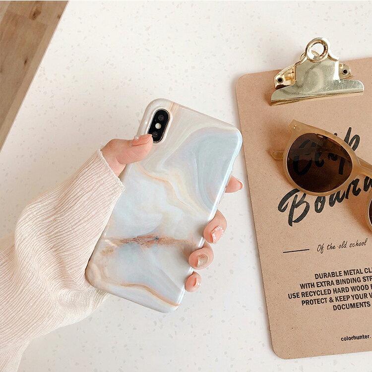 水紋大理石 iPhone手機殼 #C1563