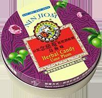 【京都念慈菴】枇杷潤喉糖-烏梅味-60g鐵盒裝×3盒 - 限時優惠好康折扣