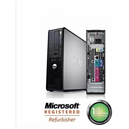 Dell Optiplex 760 Desktop Computer - Refurbished - Intel Core 2 Duo 2 60  GHz - Small Form Factor - 4 GB RAM - 80 GB HDD - DVD-Reader - Genuine  Windows