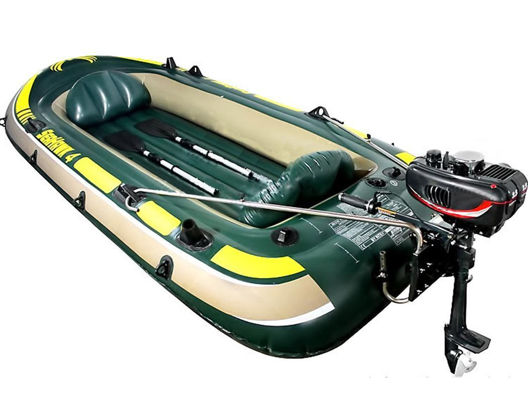 3.5HP Ship Outboard Motor Boat Engine Updated With 2 Stroke Water Cooled 2