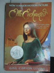 【書寶二手書T1/原文小說_IRC】Gail Carson Levine_Ella Enchanted